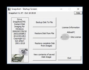 Drive SnapShot 1.48.0.18789 Crack With 2020 Keygen Full Download