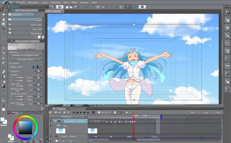 Clip Studio Paint EX v1.10.13 Crack With License Key Free Download