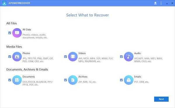 ApowerRecover Professional 14.2.1 Full