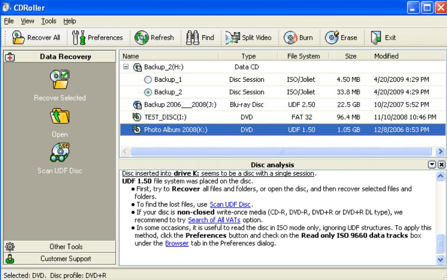 CDRoller 11.71.20.1 Crack + License