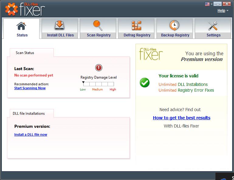 DLL Files Fixer 2021 (V 3.3.92)