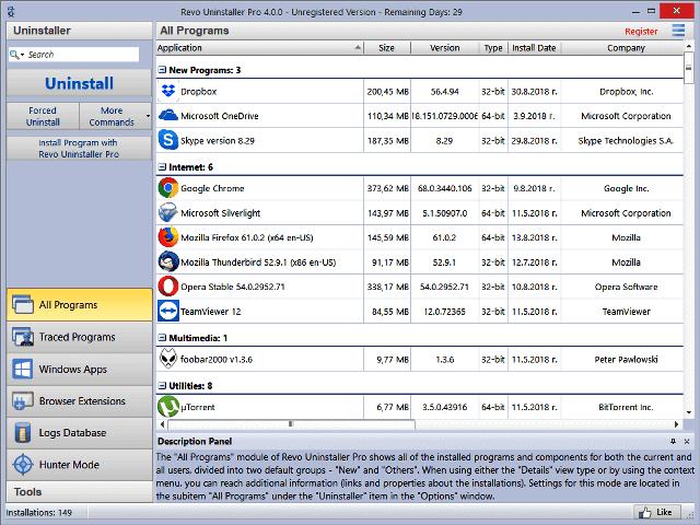 Revo Uninstaller Pro 4.4.8 Crack + License Key (1)